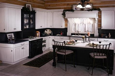 black country kitchen black and white country kitchen home trendy
