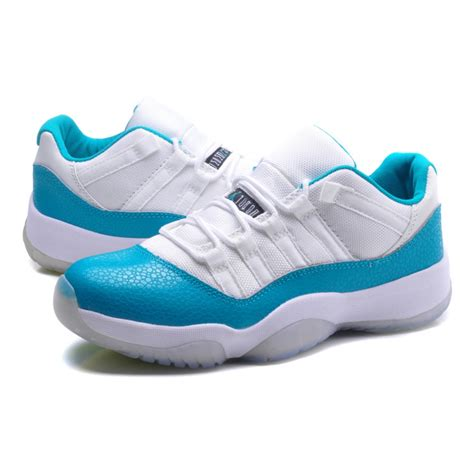 cheap shoes for nike air 11 snakeskin low white blue cheap nike shoes