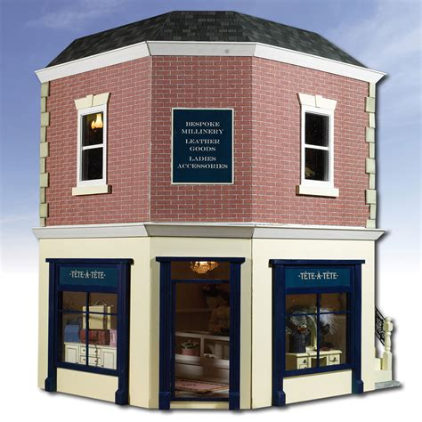 1 12 scale dolls house the corner shop 1 12 scale dolls house kit csk hobbies