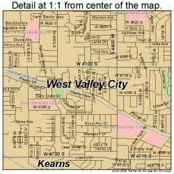 west valley city utah map 4983470