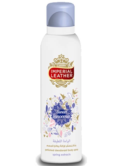 Mist Cussons Imperial Leather Parfum Heaven imperial leather deodorant spray sweet innocence