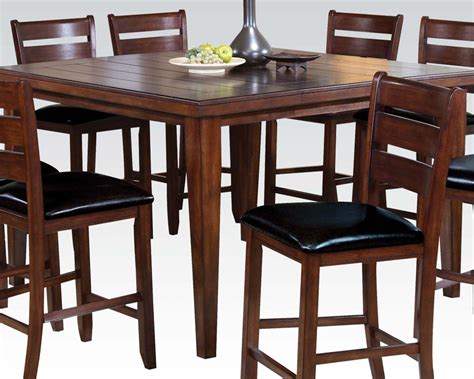Counter Height Table Sets by Counter Height Table Set Urbana Cherry By Acme Ac00680set