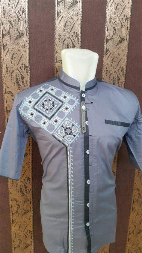 Baju Koko Al Luthfi Bm Al 26 baju koko al luthfi tangan pendek ah 004 al luthfi