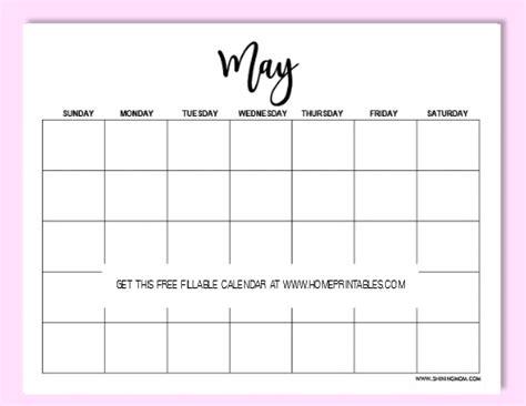 Free Beautiful Editable 2018 Calendar Template Home Printables Editable Calendar Template