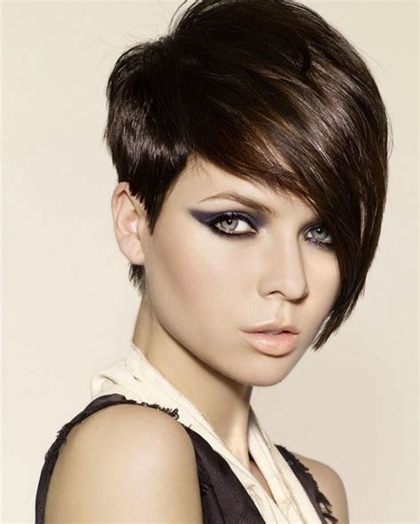 hair style with longer on sides short hairstyles sles ideas short one sided hairstyles