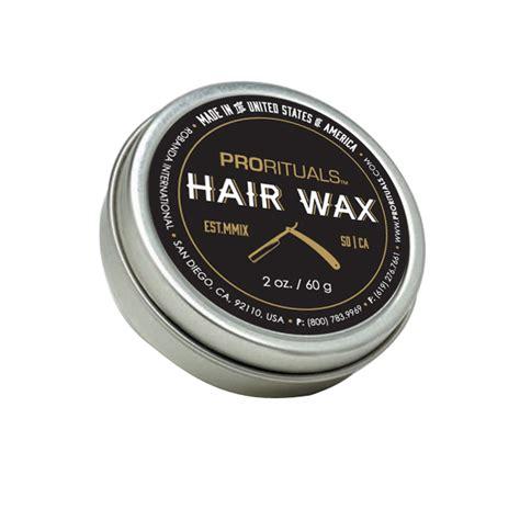 best hair wax hair wax prorituals