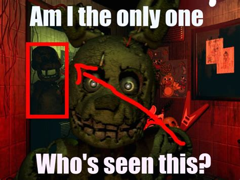 Am I The Only One Meme - fnaf meme am i the only one by hungergames1226 on deviantart