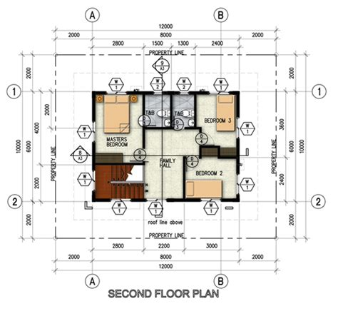 single detached house floor plan northfield residences a modern new house and lot in