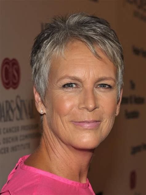jamie lee curtis she is my inspiration for graying 1000 images about short silver on pinterest jamie lee
