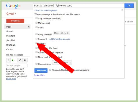 How To Search In Gmail How To Block An Email On Gmail 6 Steps With Pictures Wikihow