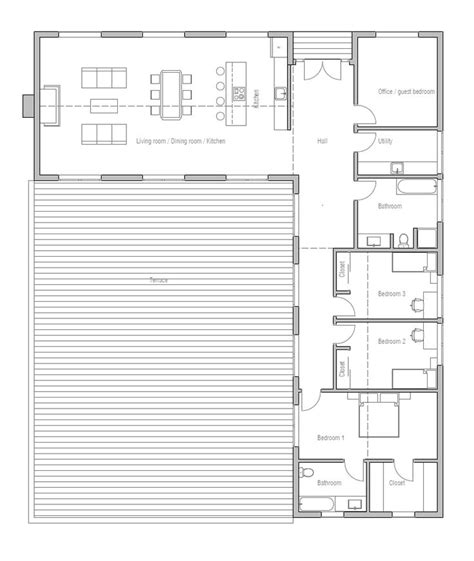 X Shaped House Plans | House Plans
