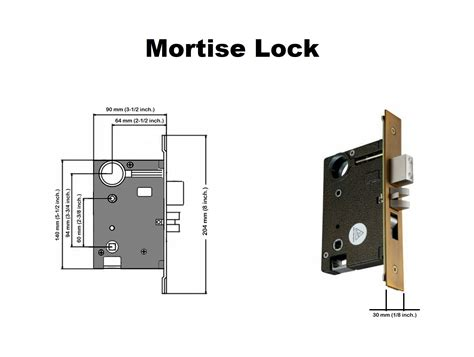 Mortise Interior Door Hardware by Luxury Single Cylinder Mortise Entry Handle Set With