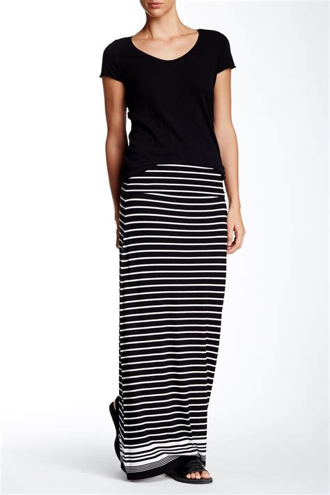max studio stripe maxi skirt nordstrom rack