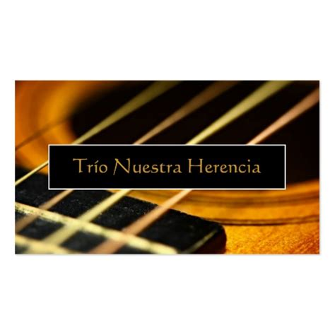 guitar business card template free acoustic guitar sided standard business cards pack