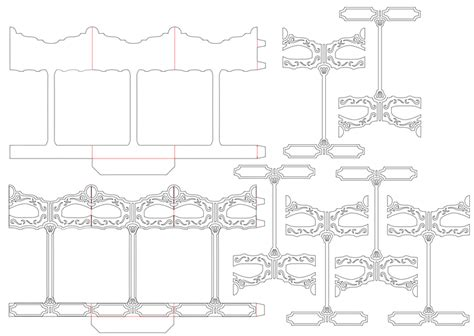 carousel pop up card template pdf richard tam s craft 旋轉 獨角馬 pop up 咭 設計篇 一
