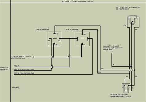 bike headlight wiring diagram relays bike free engine