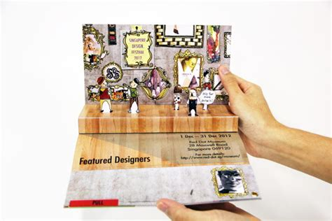 How To Make A Handmade Brochure - 30 cool 3d pop up brochure design ideas hative
