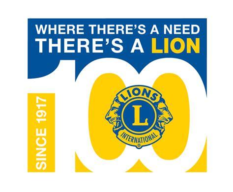 Centennial Logos Lions Club Letterhead Template
