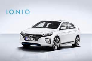 hyundai reveals more details on ioniq hybrid