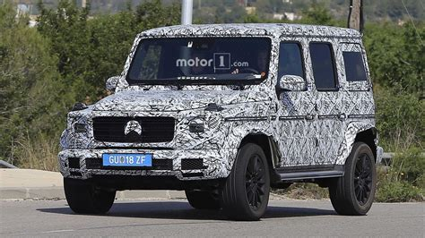 2018 mercedes g class spied looking a lot like its 1979