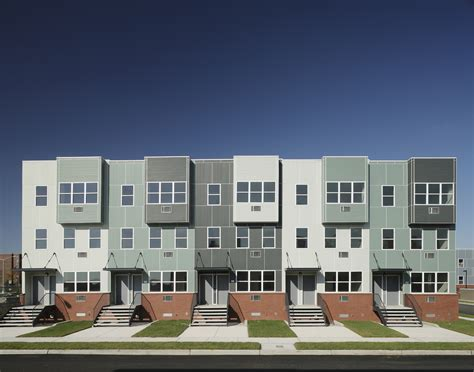 affordable home design nyc nehemiah spring creek housing alexander gorlin architects archinect