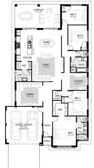4 bedroom house plan 4 bedroom house plans home designs celebration homes