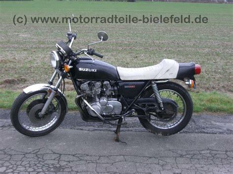 Suzuki Motorrad Gs 550 by Suzuki Gs 550d Motorradteile Bielefeld De