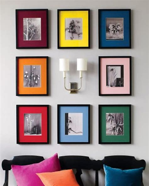 diy picture frame matting colors 2 simple powerful interior design color tricks to try