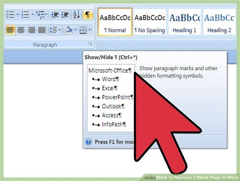 remove layout word how to remove a blank page in word with pictures wikihow
