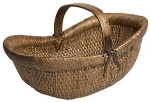 farmer s basket traditional baskets by wisteria