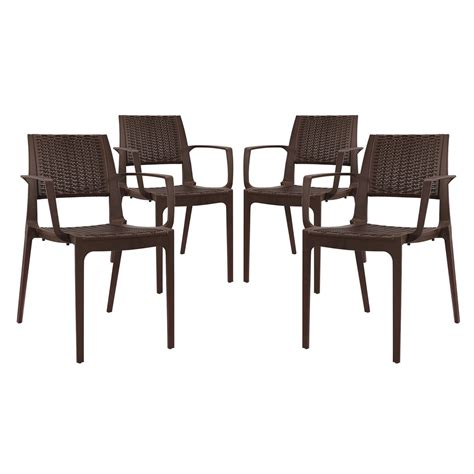 Patterned Dining Room Chairs Set Of 4 Astute Durable Criss Cross Patterned Dining Chair Set Coffee