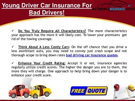How To Get Car Insurance With Bad Driving Record