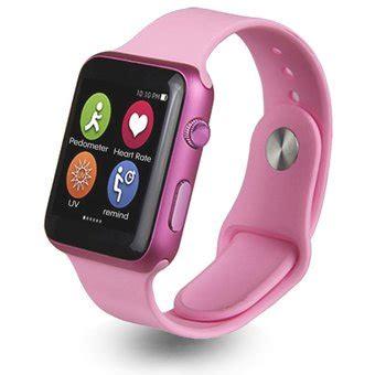 compra iwo inteligente pulsometro reloj del bluetooth  el iphone ios android rosado