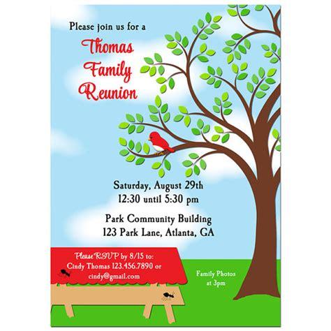 printable reunion invitations family reunion picnic bbq park invitation printable or