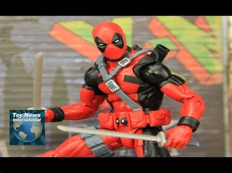 deadpool figure 90s marvel legends 6 quot deadpool sasquatch baf wave 90 s