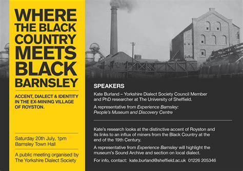 leaflet design barnsley news black country meets black barnsley lecture