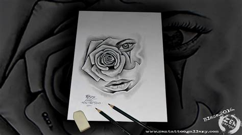 chicano rose tattoo zen chicano drawing by blaze