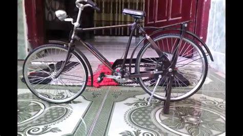 Miniatur Onthel miniatur sepeda onthel jawa