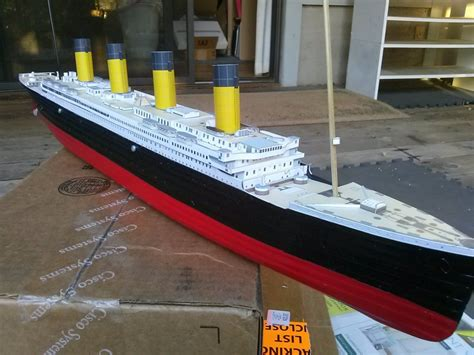 Papercraft Titanic - titanic papercraft www pixshark images galleries