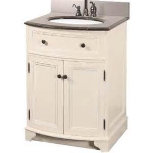 Bathroom Vanity 28 Inches Wide Foremost Arcadia 25 1 4 In Vanity In Frost White With