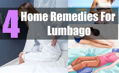 4 home remedies for lumbago tips to prevent lower back