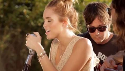 miley cyrus backyard sessions lilac wine lilac wine miley cyrus