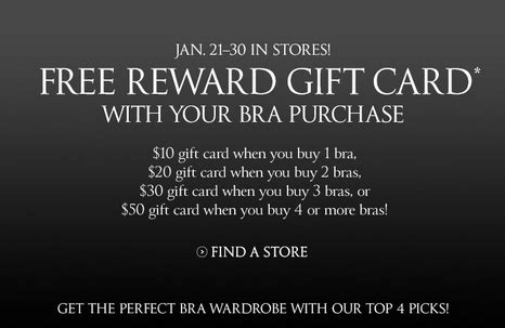 Where To Buy A Victoria Secret Gift Card - get up to a free 50 gift card with victoria s secret purchase mojosavings com