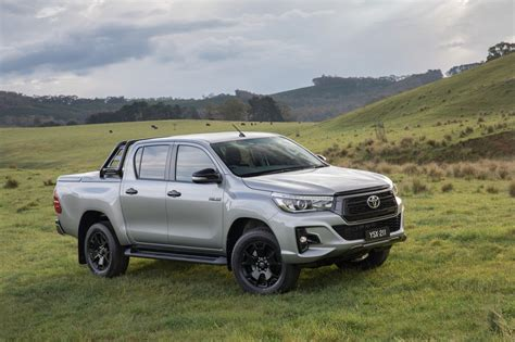 toyota australia models special edition toyota hilux models released in australia