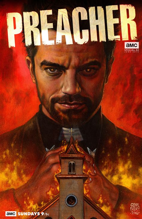 Preacher Comic Book Cover Photos Preacher Amc Exclusive Comic Book Covers Stepping Outside To Observe