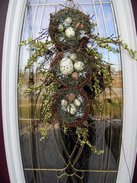 teardrop vertical spring door swag  linda thompson