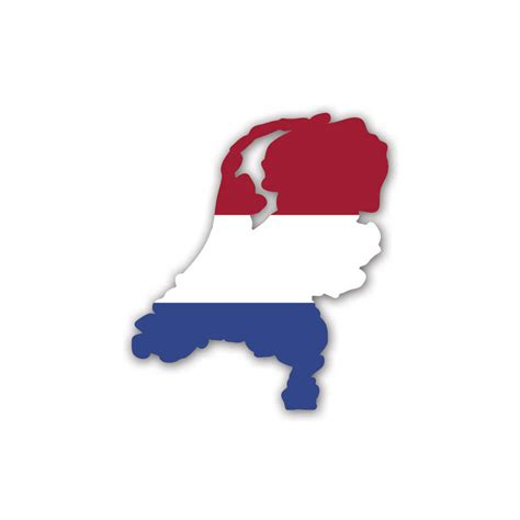 The Range Wall Stickers netherlands country flag sticker by vinyl revolution