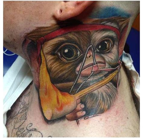 gizmo tattoo 35 best images about of the crop neck tattoos on