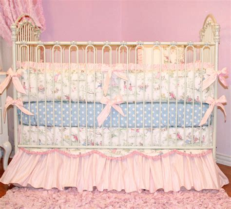 fairy tale princess crib bedding by little bunny blue
