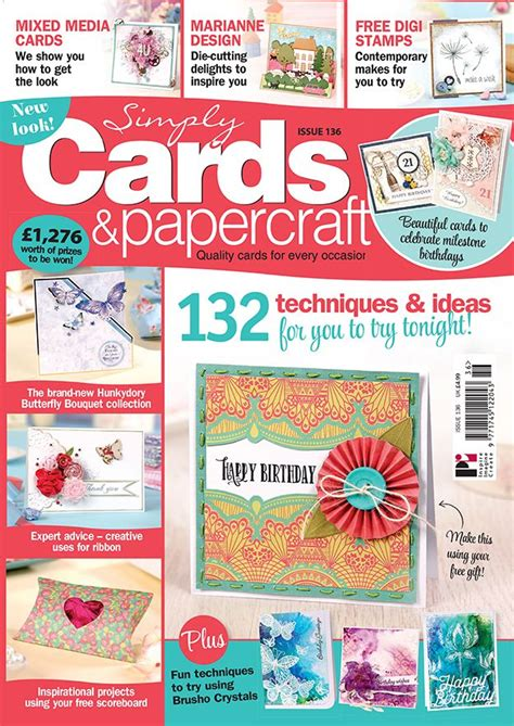 Papercraft Cards - 44 best images about papercraft magazines covers on